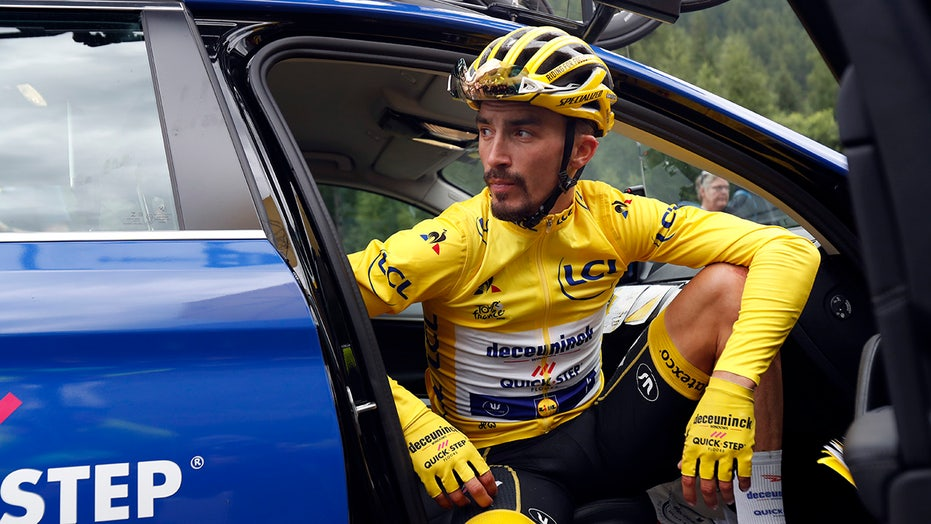 Alaphilippe Stripped Of Yellow Jersey By Tour De France Jury Fox News