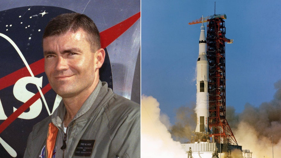 Apollo 13 astronaut Fred Haise describes the dramatic events of the Apollo 13 mission