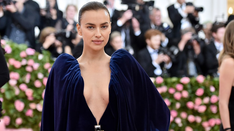 Irina Shayk takes her 'thong jeans' from the catwalk to the sidewalk