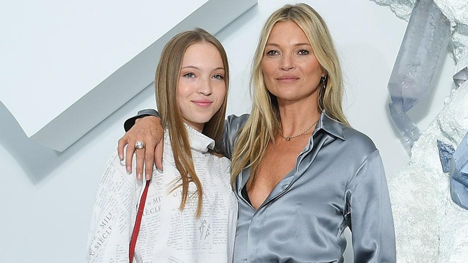 Kate Moss' daughter, Lila, walks her first runway at Paris Fashion Week