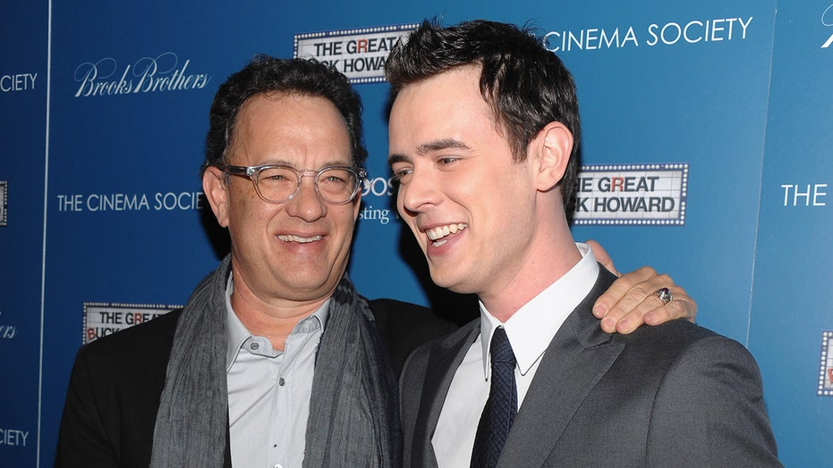 Colin Hanks wishes dad Tom Han...