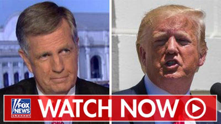 Brit Hume responds to Trump, the 'squad' press conference