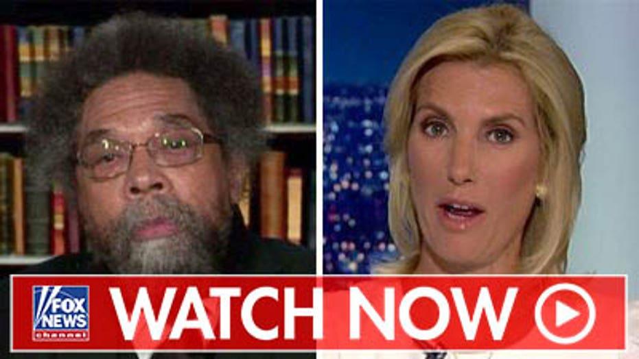 Cornel West reacts to progressives, Trump feud