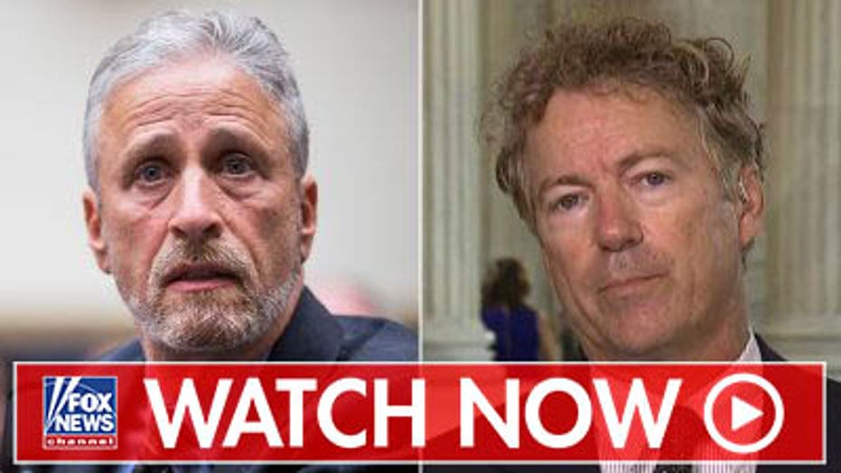 Rand Paul blasts Jon Stewart over 9/11 bill battle