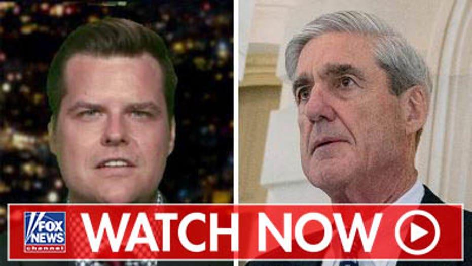 Matt Gaetz on the upcoming Mueller hearing