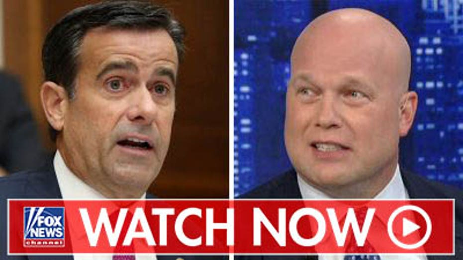 Former Acting AG Whitaker on Ratcliffe DNI appointment