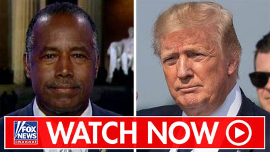 Ben Carson on Trump's feud with Elijah Cummings
