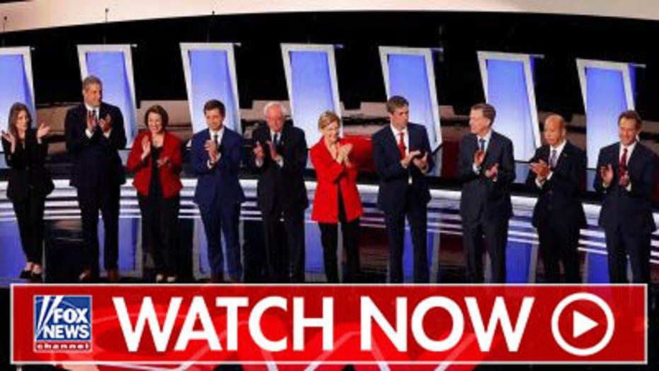 Ronna McDaniel reacts to Democratic debate