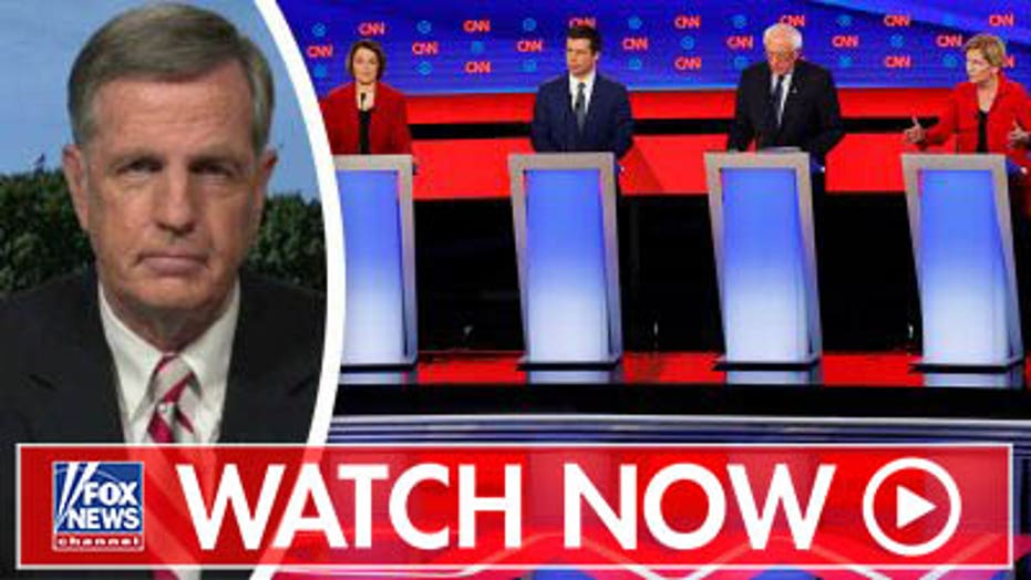 Brit Hume reacts to first July debate