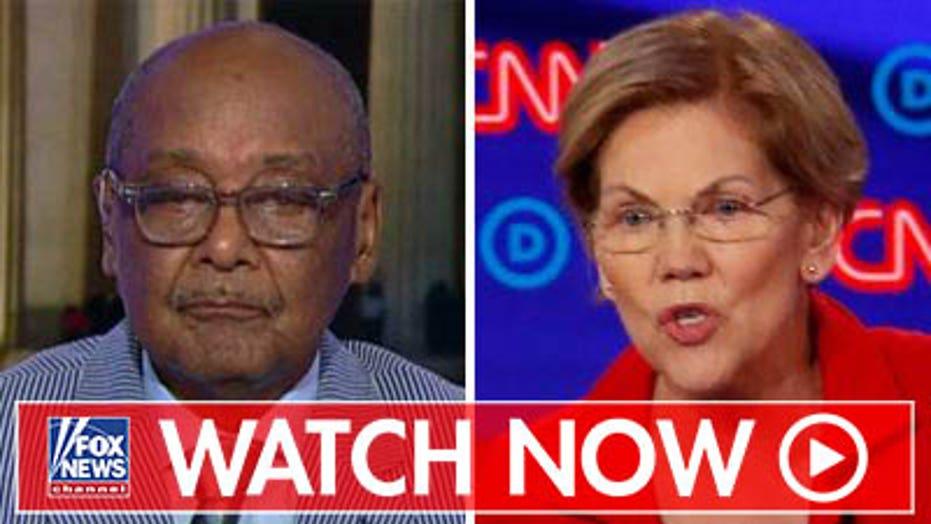 Bob Woodson rips Elizabeth Warren's comments about racism