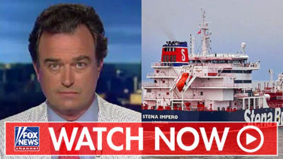 Charlie Hurt on Iran seizing tankers in Strait of Hormuz