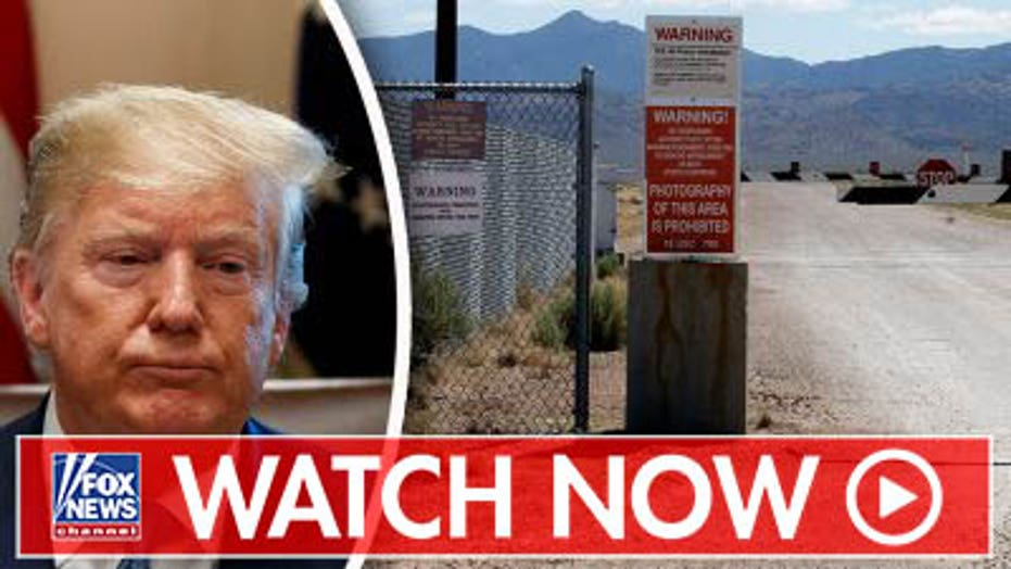 What does Trump know about Area 51, the Five asks