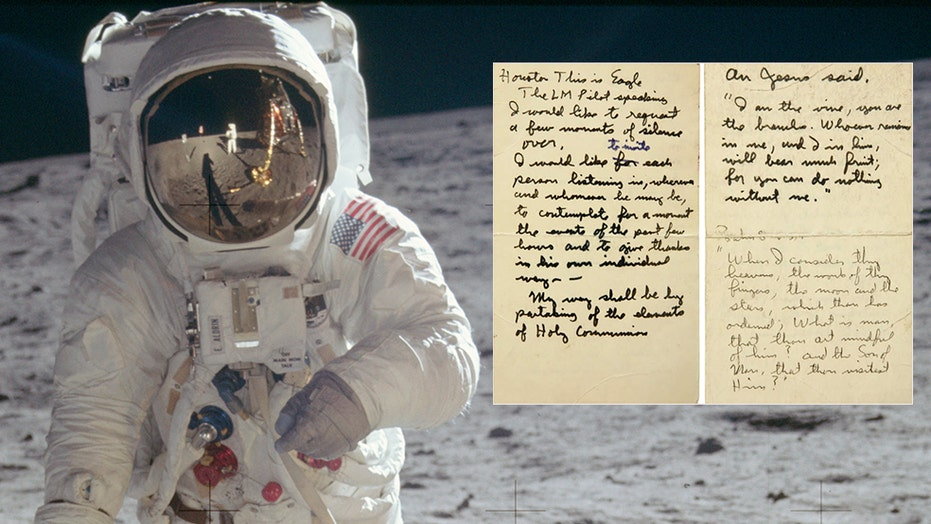 Moon landing: Buzz Aldrin took Holy Communion, read this