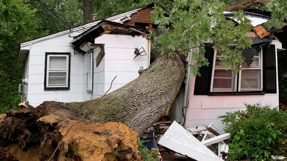 Tornado hits Cape Cod leaving more than 33,000 residents