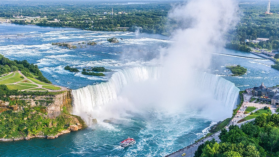 Man alive after plunging over Niagara Falls, exactly 59