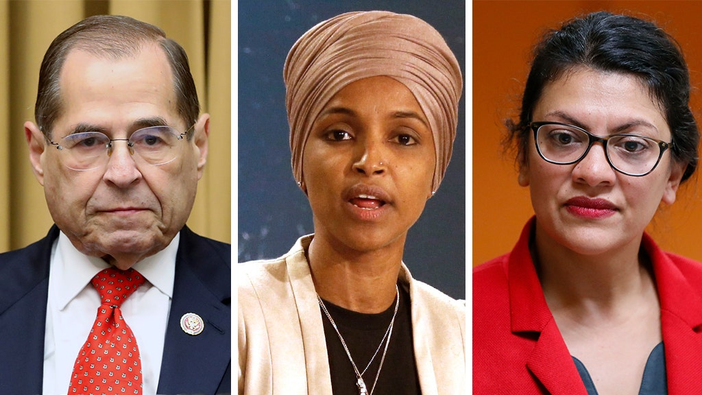 Top House Dem hits Trump... but also Omar and Tlaib