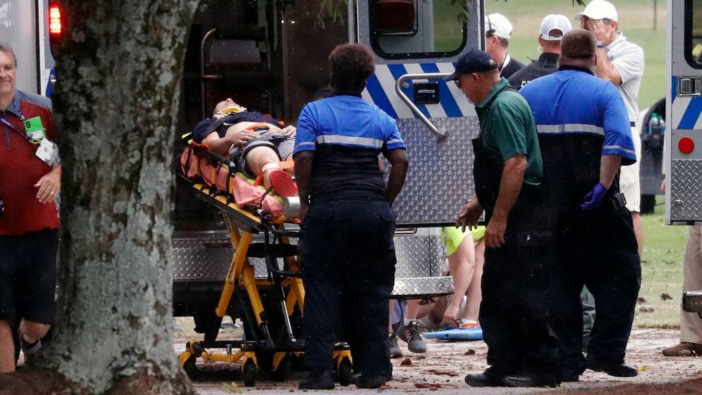 6 injured after lightning strike at PGA TOUR Championship
