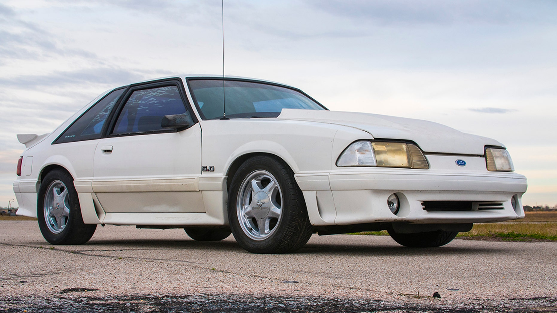 Ford restores Mustang for man