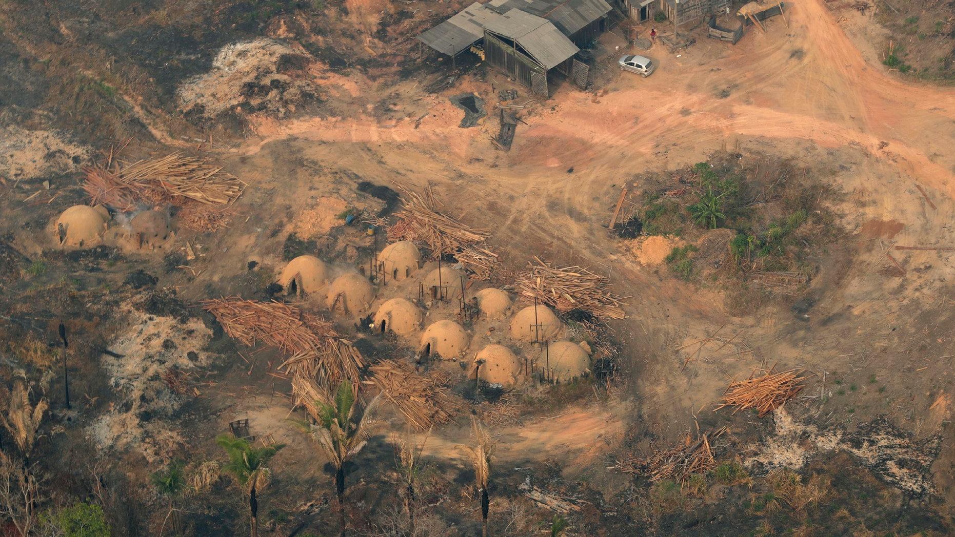 Brasil Kerahkan Pasukan Militer untuk Perangi Kebakaran Amazon