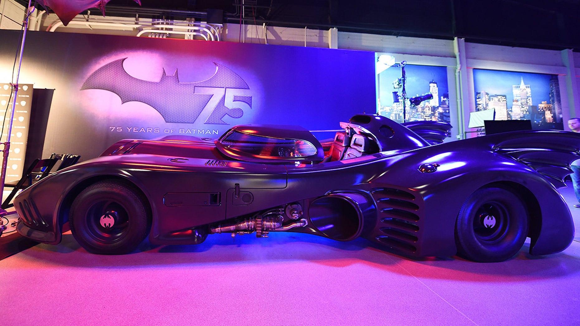 Batmobile Move Car