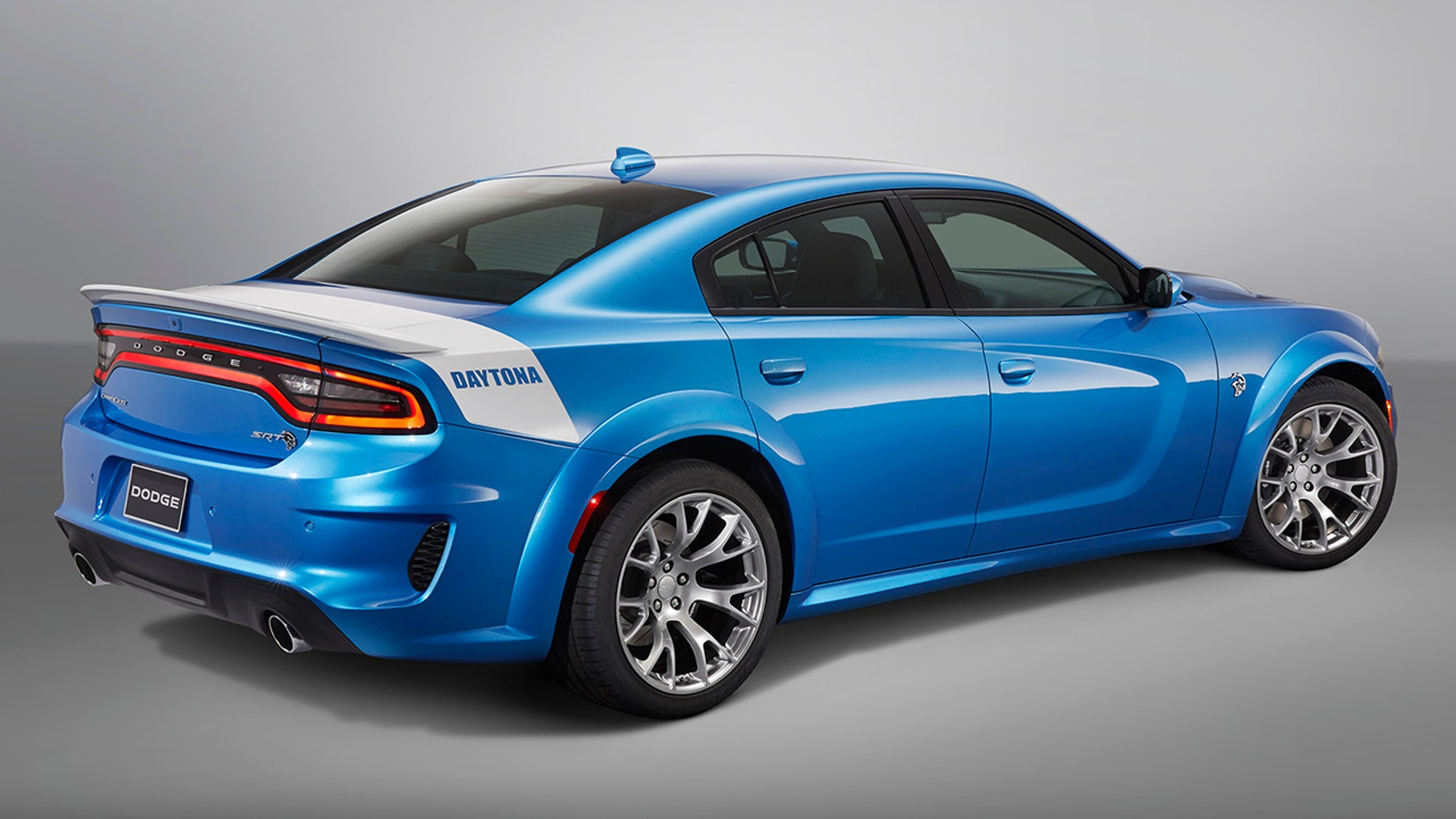 2020 Dodge Charger SRT Hellcat Widebody Daytona 50th Anniversary Edition rear view