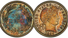 Utah businessman buys extremely rare 1894 dime for $1.3M
