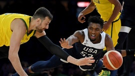 US men's basketball team shocked by Australia, lose 1st game in nearly 13 years