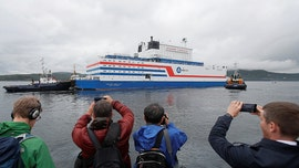Russia launches floating nuclear power station; environmentalists warn of 'Chernobyl on ice'