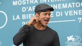 Brad Pitt wore a name tag to Oscars luncheon, sending social media into a frenzy