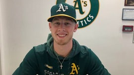 Fan who scored Oakland A's contract with viral 96-mph pitch makes professional debut