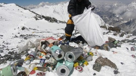 Mount Everest gets plastics ban as officials battle garbage pileup on the famous peak: report
