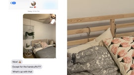 Woman sends mom picture of her new bedroom, forgets about raunchy detail: 'I'm so stupid'