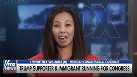 Pro-Trump immigrant and onetime 'Dreamer' runs for Congress as a Republican