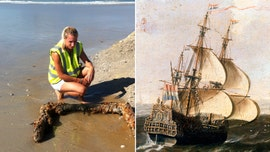 Historic 17th-century Dutch shipwreck discovered near South African beach