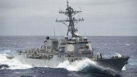 China slams US warship for 'provocative' transit through South China Sea, calling it 'maritime hegemony'