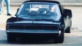 Throwback Toyota Supra and mid-engine Dodge Charger spotted on 'Fast 9' set