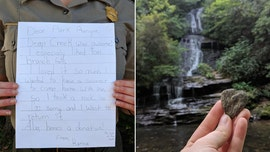 Girl sends back 'souvenir' rock, apology letter to national park