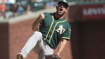 Golden State Warriors forgot where they came from, Oakland A's pitcher says