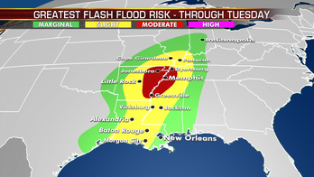 Strong storms, flash flooding possible in two batches across country