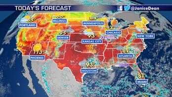 Summertime heat, humidity hang on across US
