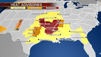 Excessive heat warnings and advisories remain posted across South