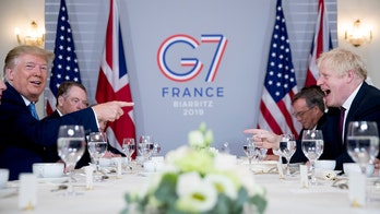 Trump meets with Britain's Boris Johnson, promises 'very big trade deal' between US, UK after Brexit