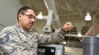 Air Force base produces first certified 3D-printed aircraft parts