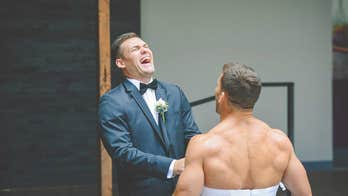 Bride-to-be pulls 'first look' prank on groom with best man's help: 'I was completely shocked'