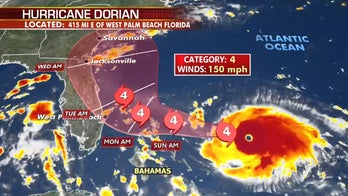Dorian nears Bahamas bringing 150 mph winds, threat of storm surge; Trump warns it could be among 'strongest' to hit in decades