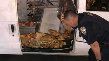 California police officers 'heartbroken' at discovering stolen doughnut van, ruined treats