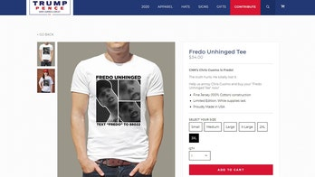 Trump campaign sells 'Fredo Unhinged' T-shirts following viral Cuomo video