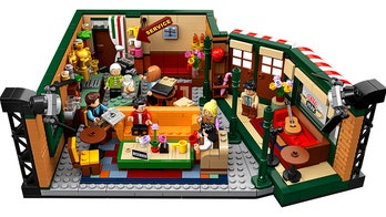 Lego debuts 'Friends' Central Perk set as show marks 25 years: 'Could we be any more excited?'