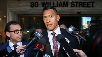 Fired Australian rugby player Israel Folau sues federation, claims contract unlawfully ended over Christian beliefs