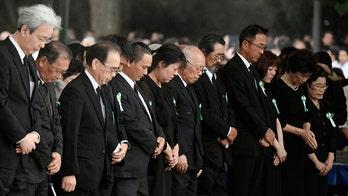 Japan marks Hiroshima anniversary; mayor warns against 'self-centered nationalism' around world